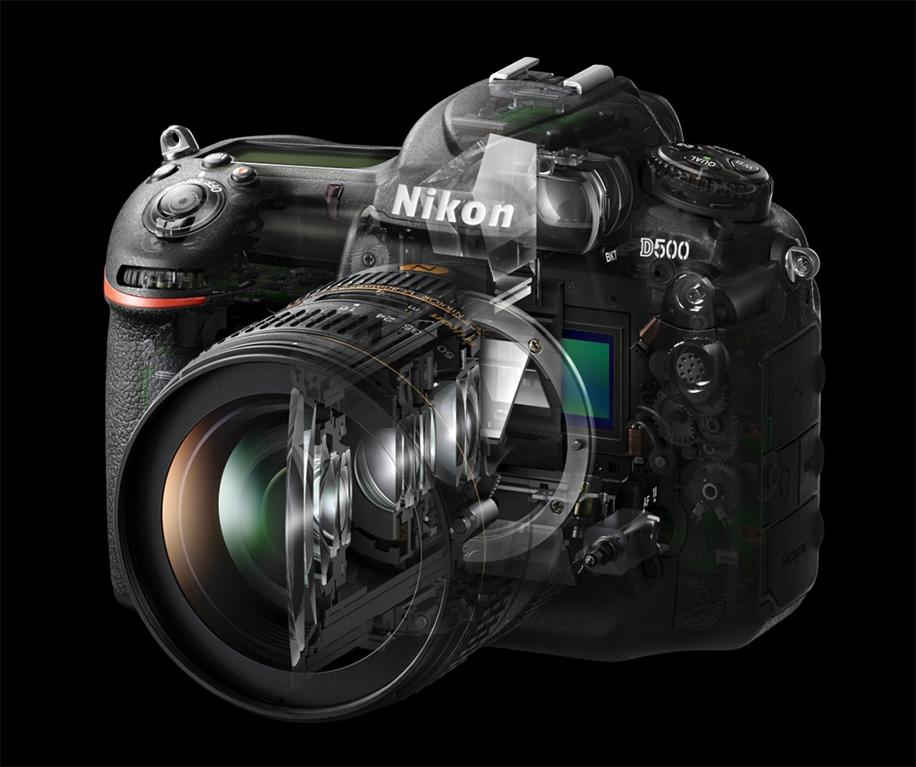Nikon D500 ma bardzo złożoną konstrukcję