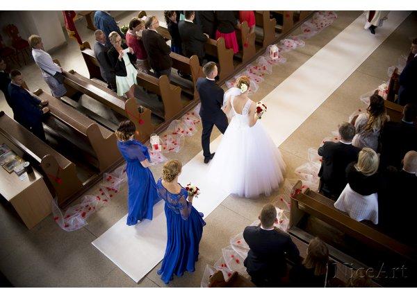 Reportaż ślubny z kościoła lub USC + sesja plenerowa