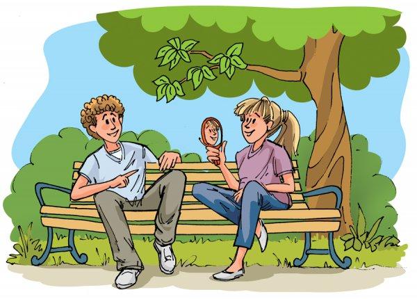 Standardowa ilustracja dla dzieci lub komiks
