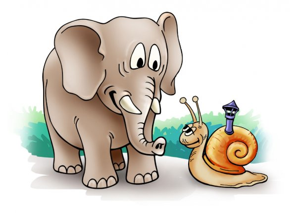 Standardowa ilustracja do bajek dla dzieci