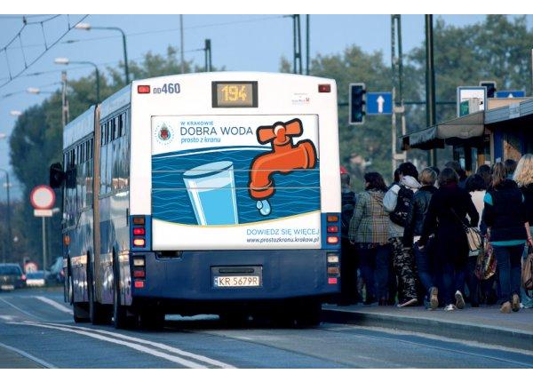 Fullback - Reklama na autobusach - Kraków i okolice
