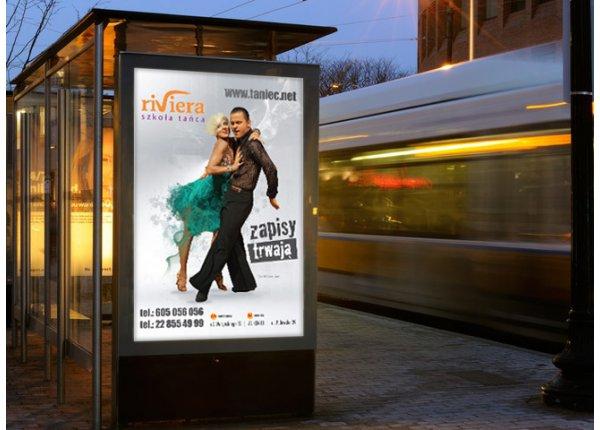 Citylight - rozmiar 1.2x1,8m - wynajem Warszawa