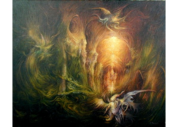 Anioły i demony - obrazy autorskie na zamówienie