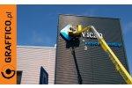 Litera reklamowa, 3D, podświetlana, wysokość 2m