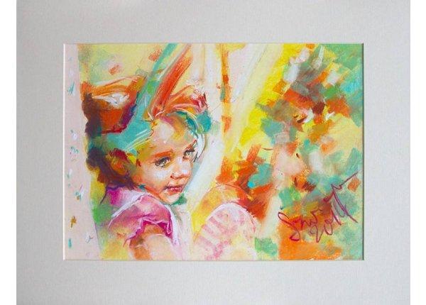 Portret w technice suchej pasteli na zamówienie
