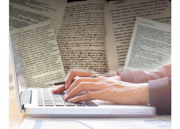 Przepisywanie tekstów z rękopisów i maszynopisów