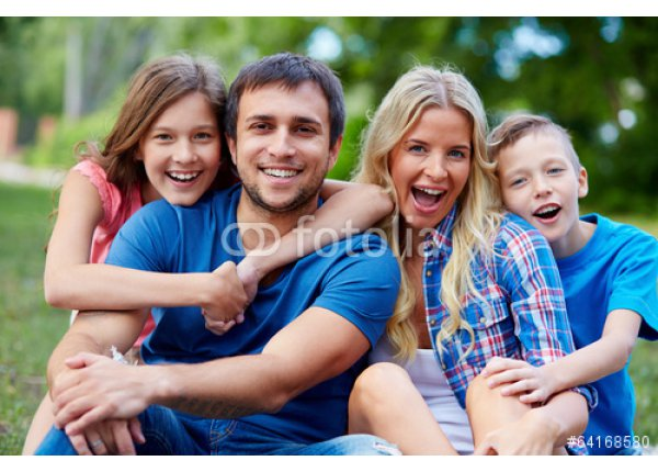 Plenerowy portret rodziny, sesja fotograficzna