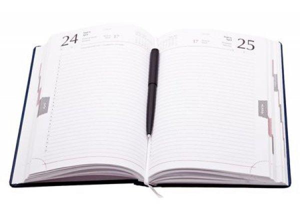 Kalendarz dzienny B6 w oprawie Nebraska, 20 sztuk