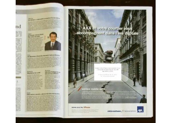 Reklama - cała strona w GAZECIE MIEJSKIEJ - Łódź