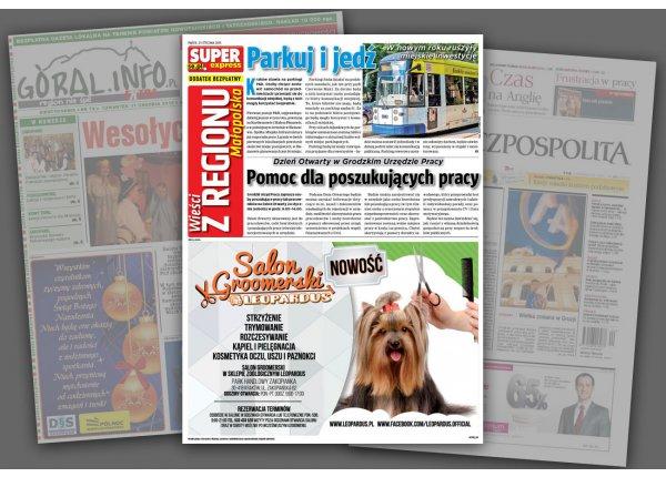 OLSZYŃSKI GŁOS - Olsztyn - Reklama na 1/2 strony