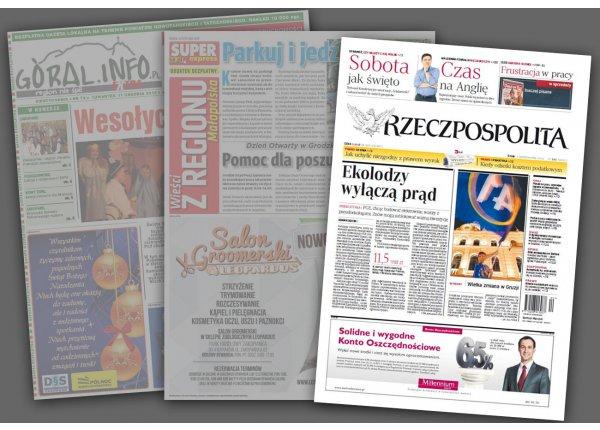 OLSZYŃSKI GŁOS - Olsztyn - Reklama na 6 modułów