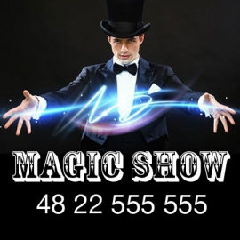 kw-0048 MAGIC SHOW - iluzjonista, konferansjer